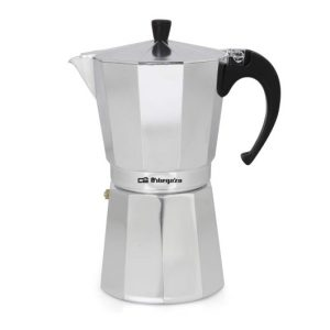 Cafetera Aluminio 12 Tazas – Orbegozo KF1200