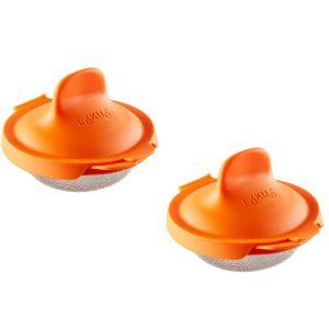 Escalfador de Huevos Naranja