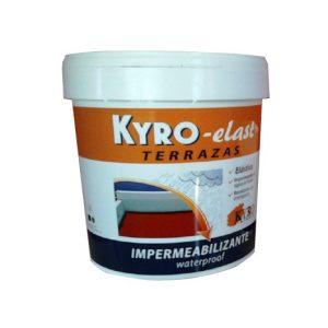 Kyro Elast con Fribra Rojo 4 L – Fachadas y Terrazas
