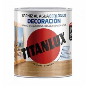 Barniz al agua Ecológico Decoración Titanlux (Brillante)