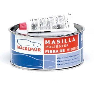 Masilla Fibra de Vidrio Macrepair 900 Gramos
