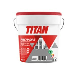 Revestimiento para Fachadas Orion Mate F5 Titan 4L