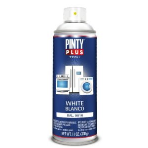 Pintura blanca para electrodomésticos en spray Pintyplus Tech