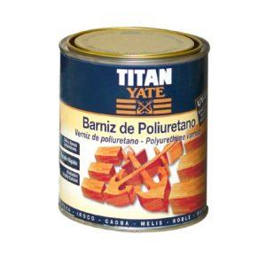 Barniz Poliuretano Titan Yate Incoloro 750ml