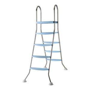 Escalera para Piscinas Elevadas 2×4 Peldaños Inoxidable – Gre