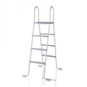 Escaleras para piscinas elevadas 2×3 Peldaños Acero Galvanizado – GRE