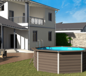 Piscina para Jardín Avantgarde Redonda – GRE