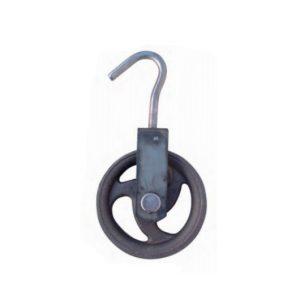 Polea con rueda