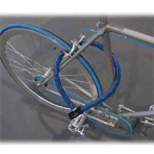 Candado para Moto y Bici Azul