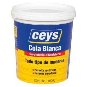 Cola Blanca Ceys Todo Tipo de Maderas 1KG