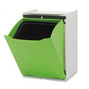 Cubo de Reciclar Individual Verde