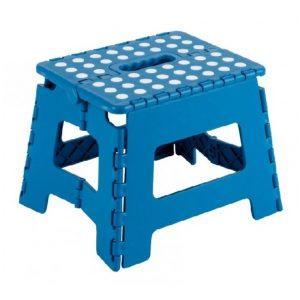 Taburete Plegable Azul