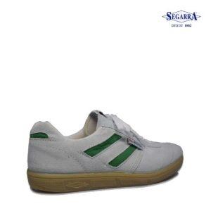 Zapatillas Deportivas Blancas y Verdes 806 – Segarra